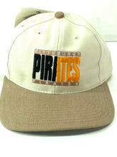 "Load image into Gallery viewer, Pittsburgh Pirates Vintage MLB ""50-50"" Ball Cap (New) By Twins Enterprise"