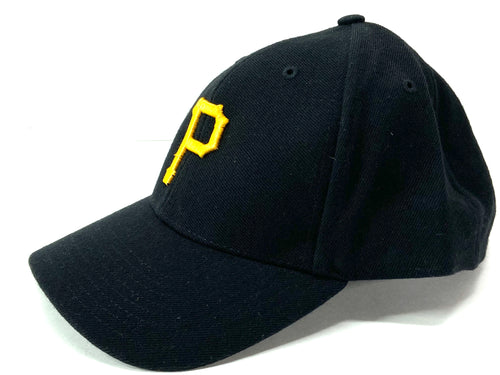 Pittsburgh Pirates Vintage MLB 15% Wool Replica Cap (New) by Twins Enterprise