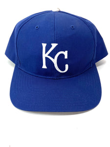 Kansas City Royals Vintage Late '90's MLB Twill Replica Snapback (New) By Twins Enterprise