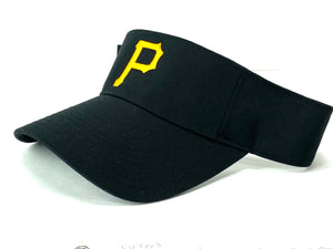 "Pittsburgh Pirates Vintage MLB Logo ""P"" Visor (New) By Outdoor Cap Co."