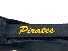 "Load image into Gallery viewer, Pittsburgh Pirates Vintage MLB Logo ""P"" Visor (New) By Outdoor Cap Co."