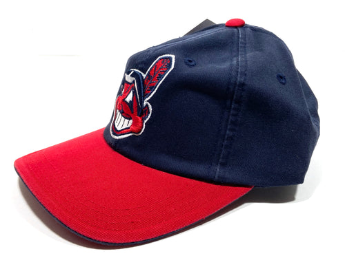Cleveland Indians Vintage MLB Classic Home Wahoo Cap (New) by Logo Athletic