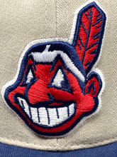 Load image into Gallery viewer, Cleveland Indians Vintage MLB Khaki Logo Cap (new) by Annco