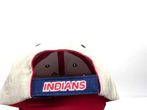 Cleveland Indians Vintage MLB Khaki Logo Cap (new) by Annco