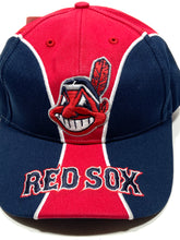 Load image into Gallery viewer, Cleveland Indians/Boston Red Sox (What?) MLB Vintage Cap (New) by Twins Enterprise