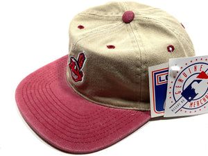 Cleveland Indians Vintage MLB Cotton Wahoo Cap (New) by Logo 7