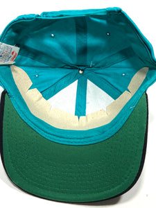 Florida Marlins Vintage '93-'95 MLB Teal Road Snapback (New) by Ed's West Signature Sportswear