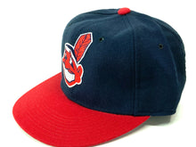 Load image into Gallery viewer, Cleveland Indians Vintage MLB Fitted 100% Wool Ball Cap (New) by New Era