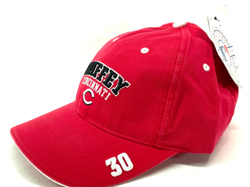 Cincinnati Reds Vintage MLB Ken Griffey Jr. #30 Cap (New) by Drew Pearson Marketing