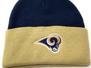 St. Louis Rams NFL Acrylic Knit Hat (New) by NFL Team Apparel