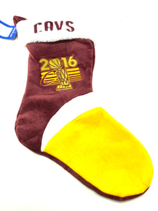 Cleveland Cavaliers 2016 NBA World Champs Holiday Stocking by Forever Collectibles