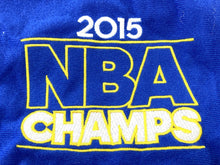 Load image into Gallery viewer, Golden State Warriors 2015 NBA Champs Santa Hat (Blue) by Forever Collectibles