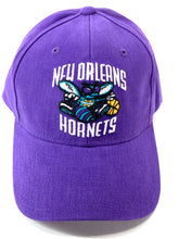 Load image into Gallery viewer, New Orleans Hornets 2007 NBA Purple Cotton Logo Cap (New) by Reebok