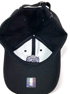 Sacramento Kings NBA Team Color Old Logo Black Cap (New) by New Era