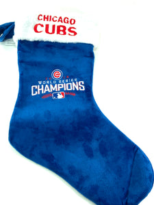 Chicago Cubs MLB 2016 World Champs  Christmas Stocking By Forever Collectibles