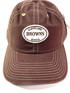 Cleveland Browns Vintage NFL Late '90's Unstructured Brown Cap (New) By American Needle