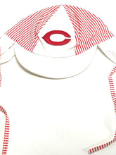Load image into Gallery viewer, Cincinnati Reds Vintage MLB Infant Caps With Ties (New) By Drew Pearson Marketing