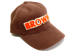 "Load image into Gallery viewer, Cleveland Browns Vintage Late '90's Stitched ""Browns"" Cap (New) By American Needle"