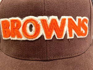 "Cleveland Browns Vintage Late '90's Stitched ""Browns"" Cap (New) By American Needle"