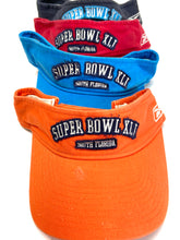 "Load image into Gallery viewer, Super Bowl XLI (41) NFL ""Tattered"" Visors By Reebok"