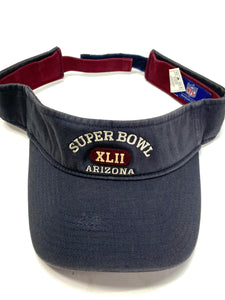 Super Bowl XLII (42) NFL Commemorative Visors By Reebok