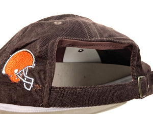 Cleveland Browns Vintage Late '90's NFL Brown Corduroy Cap (New) By American Needle