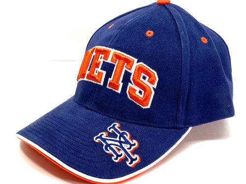 New York Mets Vintage MLB Team Color 3-D Cap (New) By Drew Pearson Marketing