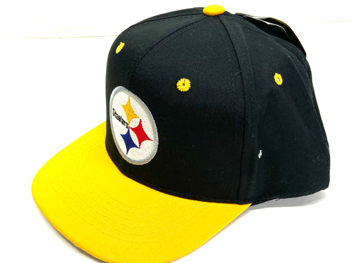 Pittsburgh Steelers Vintage NFL Juvenile Logo Snapback (New) By G Cap Company