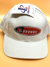 Load image into Gallery viewer, Cleveland Browns Vintage Late '90's NFL Cream Logo Cap (New) By Logo Athletic