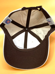 Cleveland Browns Vintage Late '90's NFL Cream Logo Cap (New) By Logo Athletic