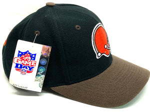 Cleveland Browns Vintage NFL 20% Wool Logo Snapback (New) By Twins Enterprise