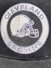Load image into Gallery viewer, Cleveland Browns Vintage NFL Black Circle Logo Cap (New) By American Needle