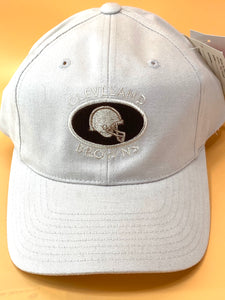 Cleveland Browns Vintage NFL Khaki Logo Cap (New) By American Needle