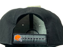 Load image into Gallery viewer, Cleveland Browns Vintage NFL Black 30% Wool Logo Cap (New) By Twins Enterprise