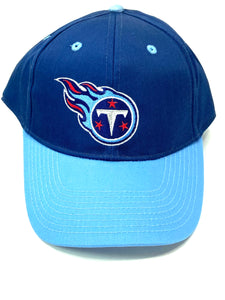 Tennessee Titans Vintage NFL Blue Cotton/Poly Snapback (New) By Drew Pearson
