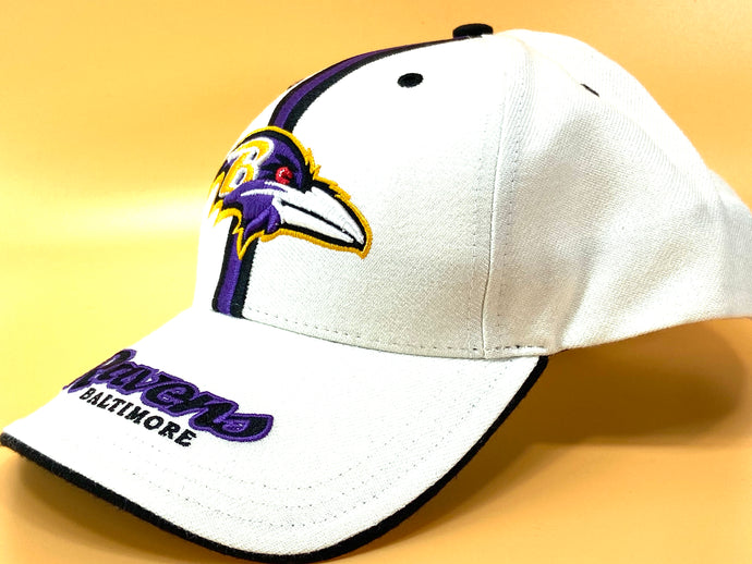 Baltimore Ravens Vintage NFL 15% Wool Logo Cap (New) By Twins Enterprise