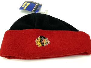 Chicago Blackhawks Vintage NHL Team Color Fleece Hat (New) By G Cap Co.