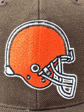 Load image into Gallery viewer, Cleveland Browns NFL 1990's Brown 20% Wool Logo Ball Cap (New) by American Needle