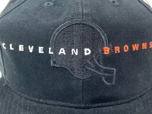 Cleveland Browns Vintage NFL Black Cotton Snapback (New) By American Needle