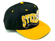 Load image into Gallery viewer, Pittsburgh Steelers Vintage NFL Cotton/Poly Youth Snapbacks By NFL