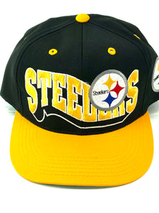 Pittsburgh Steelers Vintage NFL Cotton/Poly Youth Snapbacks By NFL