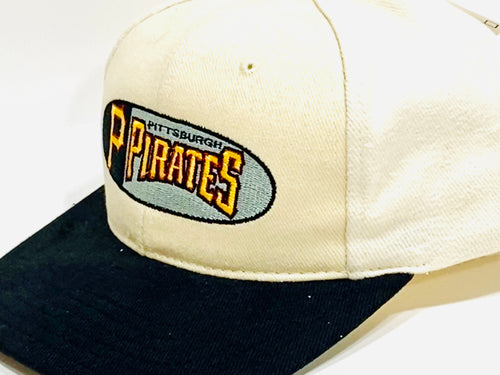 Pittsburgh Pirates Vintage MLB Cream Logo