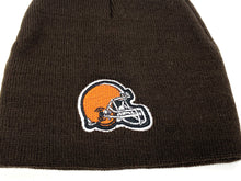 Load image into Gallery viewer, Cleveland Browns Vintage NFL Brown Logo Beanie (New) By NFL