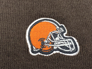 Cleveland Browns Vintage NFL Brown Logo Beanie (New) By NFL