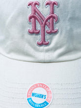 Load image into Gallery viewer, New York Mets Vintage MLB Women's Pink Logo Cap (New) By Twins Enterprise