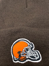 Load image into Gallery viewer, Cleveland Browns Vintage NFL Brown Cuffed Knit Logo Hat (New) By NFL