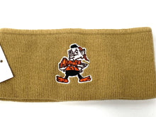 Load image into Gallery viewer, Cleveland Browns Vintage NFL Tan Elf Headband (New) By Rossmor Industries
