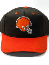 Load image into Gallery viewer, Cleveland Browns Vintage NFL Team Color Replica Snapback (New) By Drew Pearson Marketing