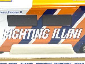 Illinois Fighting Illini Vintage 2001 NCAA 1:43 Winnebago By White Rose Collectibles
