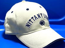 Load image into Gallery viewer, Penn State Nittany Lions Vintage Adult NCAA Cotton Logo Cap (New) By Drew Pearson